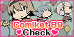 Here are new releases at Comiket 89